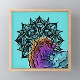 Sheep- Catalyst Ranch Framed Mini Art Print