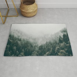 Foggy Forest 3 Rug