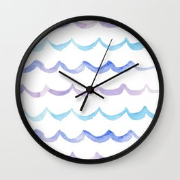 Life is Swell - Ombre Waves Wall Clock