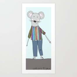 Mr. Mouse Art Print