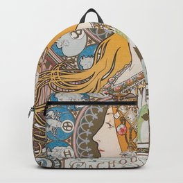 HD- Alphonse Mucha - Zodiac / HIGH DEFINITION Backpack