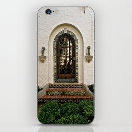 Rounded Door iPhone Skin