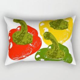 Capsicums Rectangular Pillow