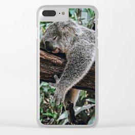 SLEEPING KOALA II / Australia Clear iPhone Case