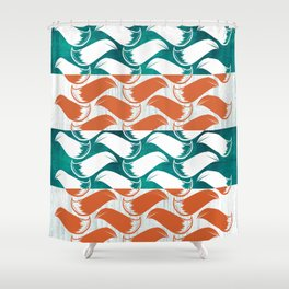Foxhatched Shower Curtain
