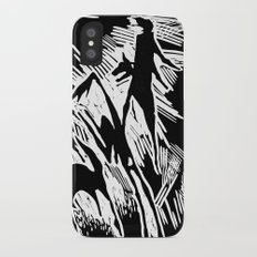 Animals and humans Slim Case iPhone X
