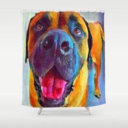 English Mastiff Shower Curtain