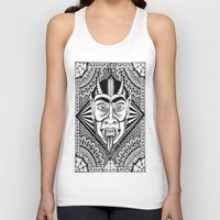 devil Tank Tops featuring Devil by Cady Bogart