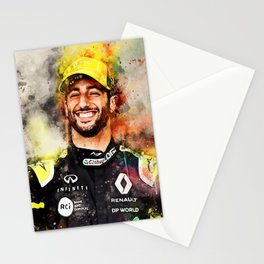 Daniel Ricciardo Stationery Cards