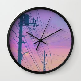 Summer Sky Wall Clock