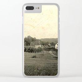 The Farmhouse Clear iPhone Case