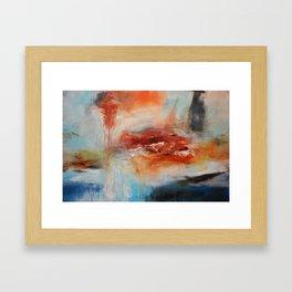 Abstract Digital Art from Original Painting Framed Art Print
