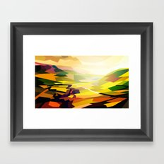 Valley Framed Art Print