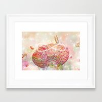 forever young Framed Art Prints featuring Forever Young by Lisa Argyropoulos