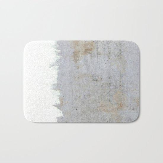 Painting on Raw Concrete Bath Mat