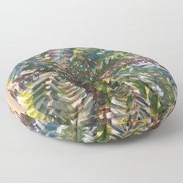 Cosmic Palm Floor Pillow