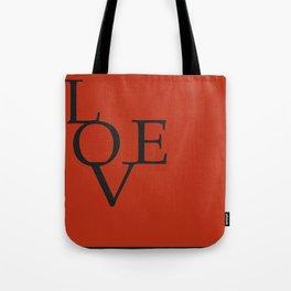 LOVE RED Tote Bag