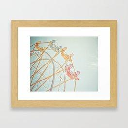 Ferris Wheel Dreams Framed Art Print