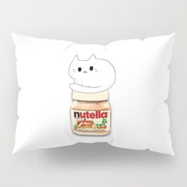 cats and nutella 584 Pillow Sham