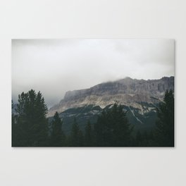 Above the Tree Line pt2 Canvas Print