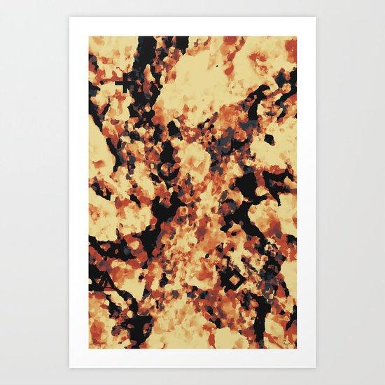 FIELD 4 Art Print