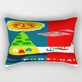 Portugal Fun in the Sun Travel Rectangular Pillow