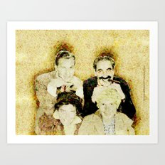 MARX BROTHERS - 004 Art Print
