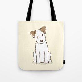 Custom Art Abby the JRT Illustration Tote Bag