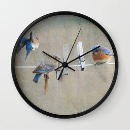 Laundry Day Wall Clock