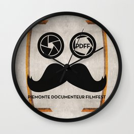 PDFF Wall Clock