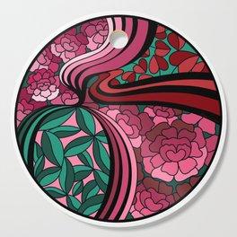 Floral Unity Cutting Board
