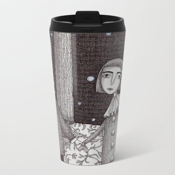 Hansel and Gretel Metal Travel Mug