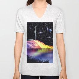 Exoplanet Nr.936. Unisex V-Neck