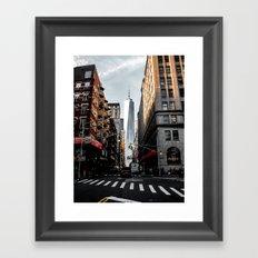 Lower Manhattan One WTC Framed Art Print