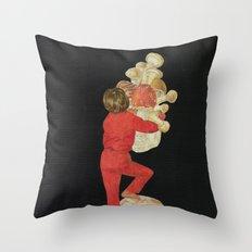 Foraging Throw Pillow