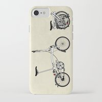 brompton iPhone & iPod Cases featuring Brompton Bicycle by Wyatt Design