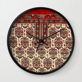 Bijar Sumakh Kurdish Persian Horse Cover Wall Clock