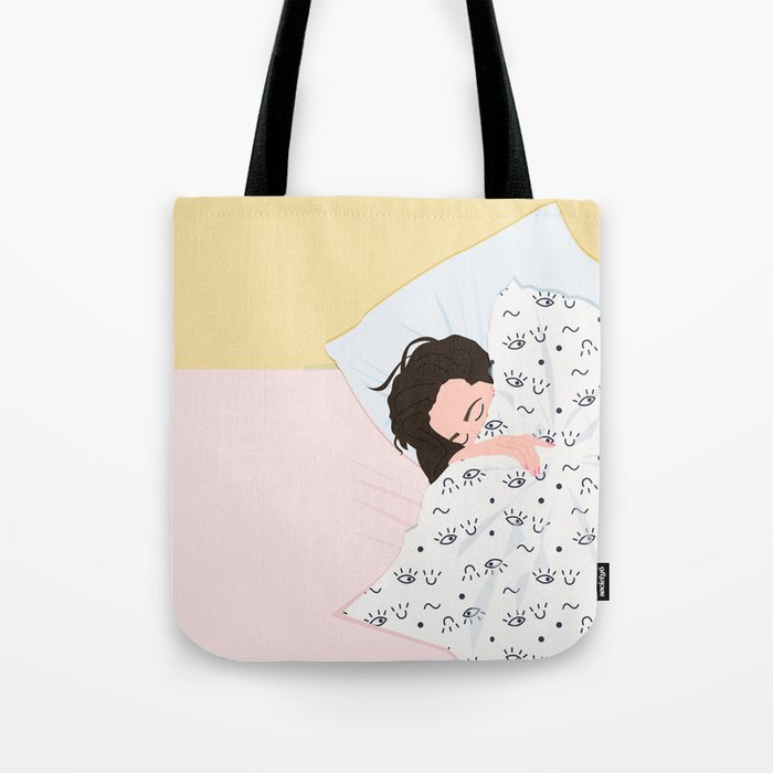 MORNING TROUBBLES III Tote Bag