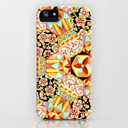 Gypsy Patchwork (printed) iPhone Case