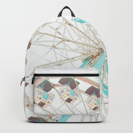 Ferris Wheel Abstract Backpack