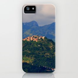 View on Trassilico iPhone Case