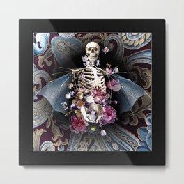 Floral Phantasm Metal Print