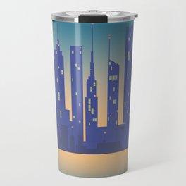 Night City Travel Mug