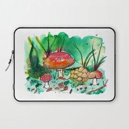 Toadstool Mushroom Fairy Land Laptop Sleeve