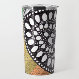 Zen Doodle zz04 - color Travel Mug