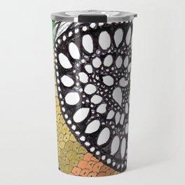 Zen Doodle zz04 - color Travel Mug