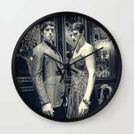 The Honeymooners (Orient Express-ions) Wall Clock