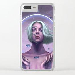 Telekinesis Clear iPhone Case
