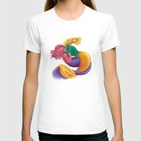 mermaids T-shirts featuring Mermaids by DeirdreEBeck