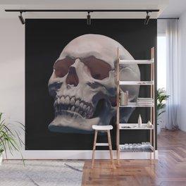Skull Digital Drawing Illustraton Artwork Blkfleece Wall Mural